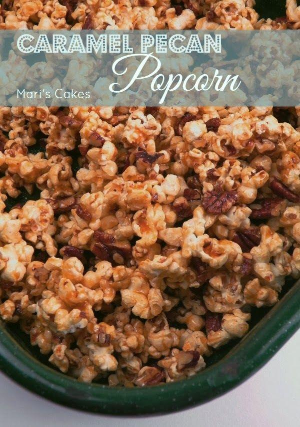 Caramel Pecan Popcorn | Mari's Cakes (English)