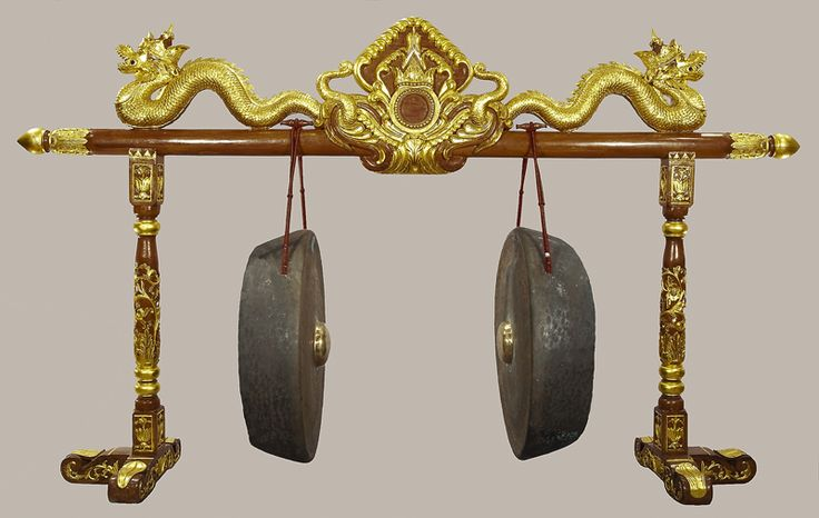 Gong Ageng from Javanese Gamelan at the National Music Museum