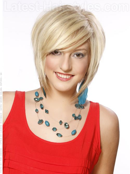 A short and layered pixie bob for spring 2012