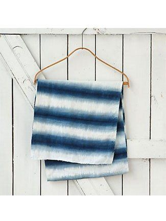 Shibori Home Accessories from Katie Anderson of Modern Eve - The Nest Blog