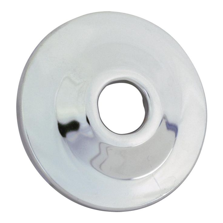 1 in. Iron Pipe Size Sure Grip Flange in Chrome (Grey)