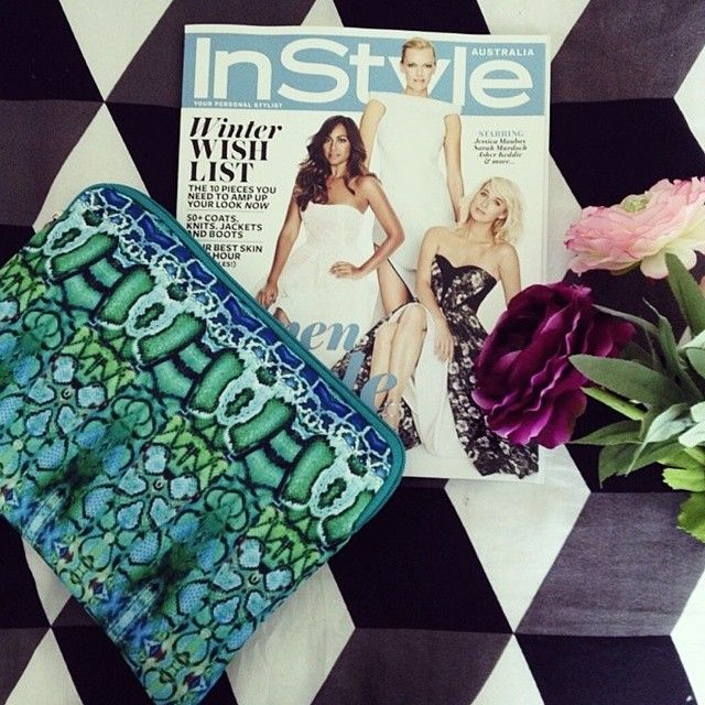Gorgeous Instagram of our June issue with limited-edition Camilla iPad case & clutch. Show us how you're loving yours and tag #InStylexCamilla Regram: @oheylouise