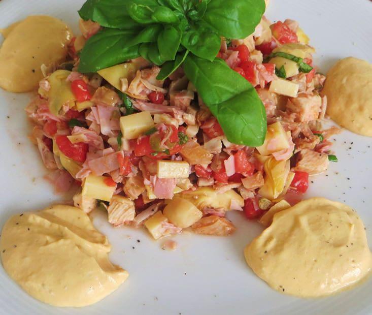 insalata di pollo arrosto