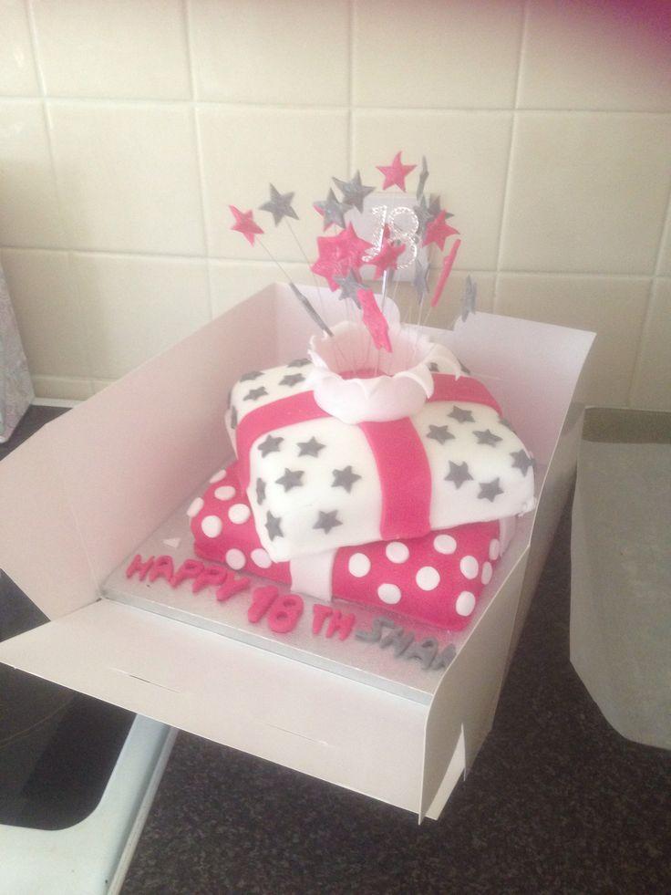 Shanas 18th cake