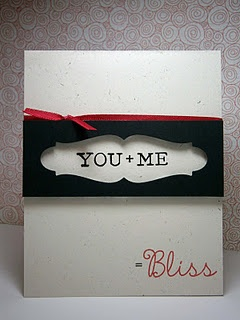 cute card for the one you love
