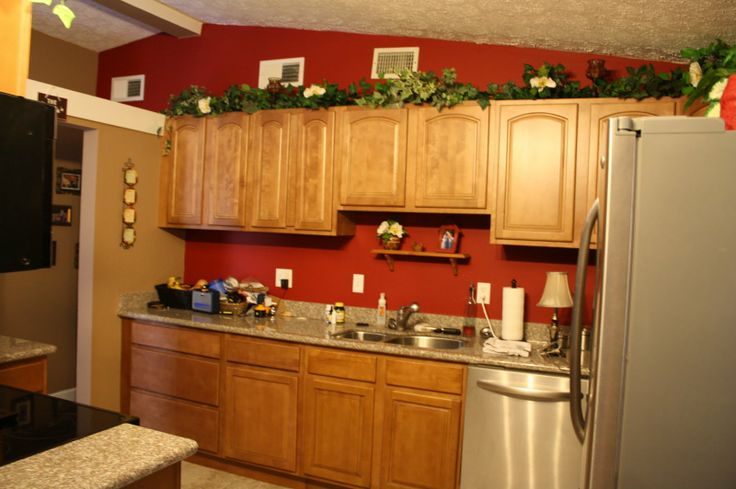 Best 25+ Red kitchen walls ideas on Pinterest