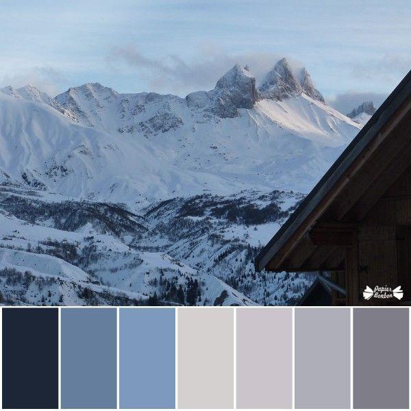 Inspiration blanc : photos de montagne