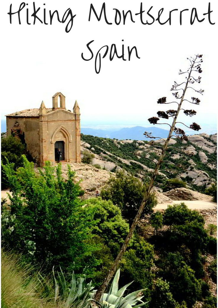 Hiking Montserrat - great day trip from Barcelona - enjoy the beautiful vistas of Catalonia - SoloTripsAndTips.com