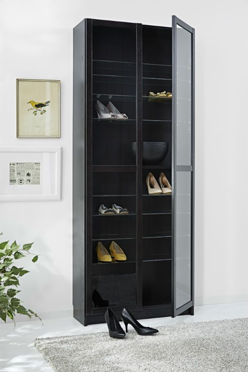 IKEA Fan Favorite: BILLY bookcase. From study hall to bedroom, our BILLY bookcase system has it covered. It comes in different heights, widths and finishes, with adjustable shelves to suit all sizes of books, plus optional doors. And when your book (or shoe) collection grows, it's easy to add more pieces so your storage can grow, too.