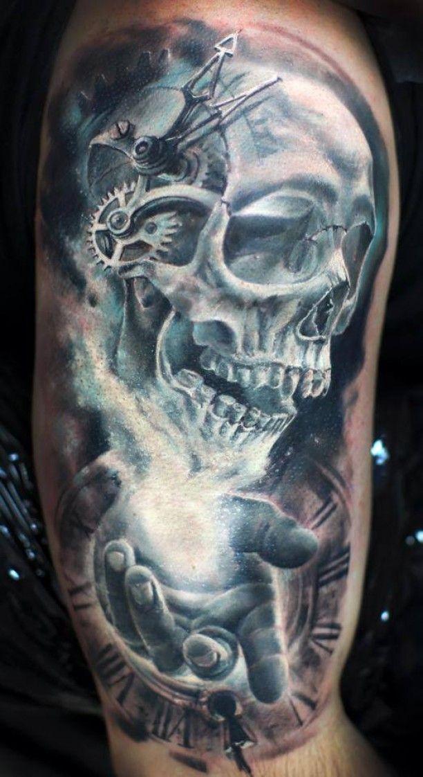 3 D broken hourglass tattoo - Google Search
