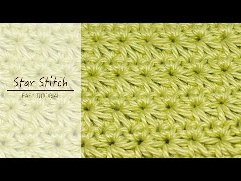 How To: Crochet The Star Stitch - YouTube
