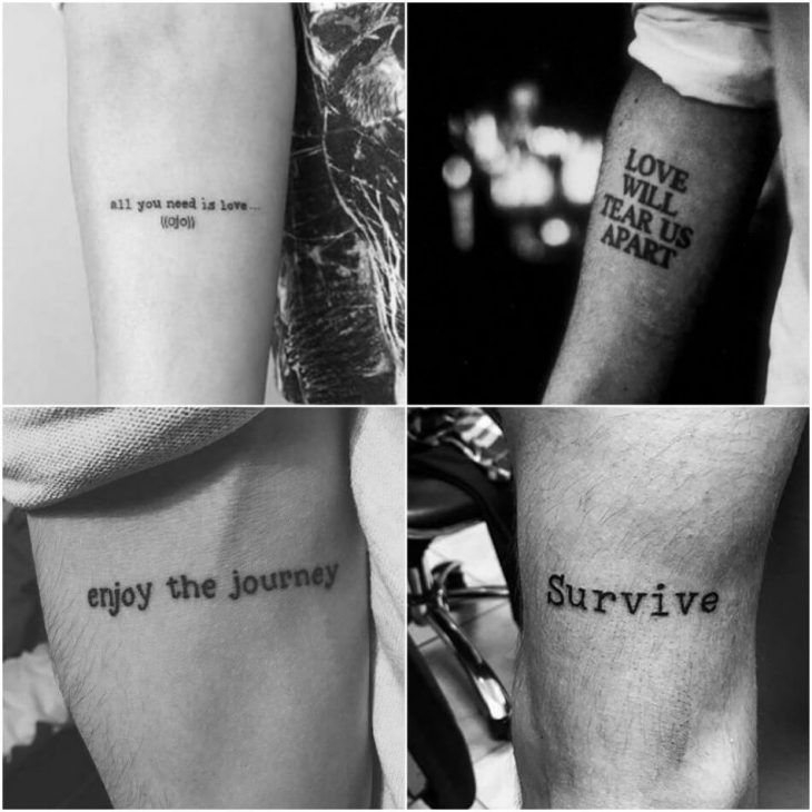 Tattoo Quotes For Men Short Meaningful Quote Tattoos For Guys Short Meaningful Quotes Tattoos Meaningful Tattoo Quotes Tattoo Quotes For Men