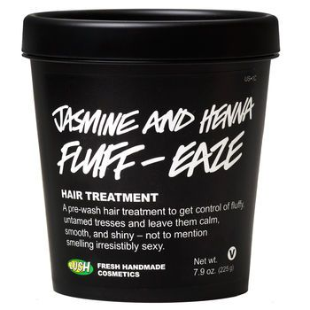 If your hair is a little fluffy, frizzy, dry, or out-of-control, Jasmine and Henna Fluff Eaze is made for you. Our specialty hair treatment, it's packed with copious amounts of moisturizing and nutrient-filled oils including organic jojoba, almond, Brazil nut and extra virgin coconut oil. It works brilliantly on curly hair as well, as all of the oils help define the curls and add loads of shine. And if that doesn't stop passerby's from stopping in their tracks, the jasmine fragrance will…