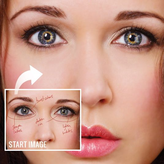 Boost eyes in Photoshop with these 3 simple steps