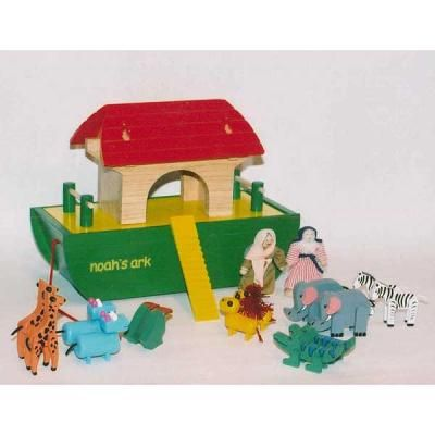 Noah\'s Ark Play Set Woodworking Plan