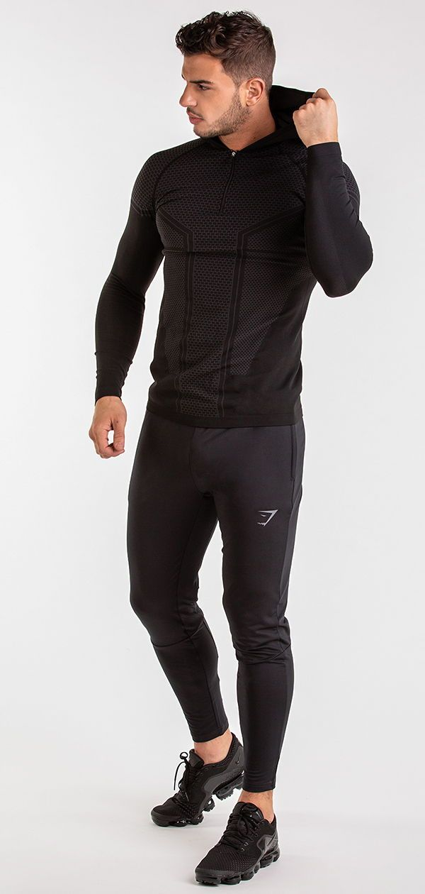 Paired with the Onyx Imperial Leggings the Hooded Top is made from the same  Premium d1e5a0343bf