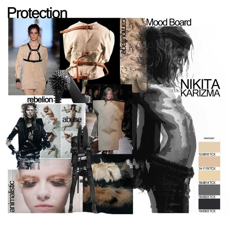 Fashion Vs Abuse Mood Board by Nikita Karizma