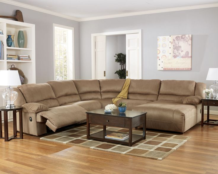 Hogan Contemporary Mocha Fabric Living Room Set.  WohnzimmereinrichtungModerne ...