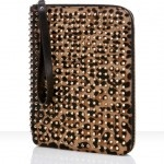 So Louboutin designed this $795 #iPad case with pony hair and golden studs and red leather interior. Now, I ask myself: Why would I pay more for the case than the iPad itself? #irony