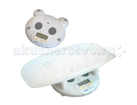 """LAICA BF20510  — 5290р. ----------------------------------------  Электронные детские весы LAICA BF20510 предназначены для измерения не только веса, но и роста малыша.   Функция """"Tare"""" позволяет взвешивать ребенка, не учитывая вес пеленки, на которой лежит малыш.  Функция """"Weight-Block"""" показывает точный вес ребенка, даже если малыш не лежит спокойно.  Когда ребенок подрастет, взвешивание может происходить без использования чаши весов: ее можно снять, превратив весы в напольные…"""