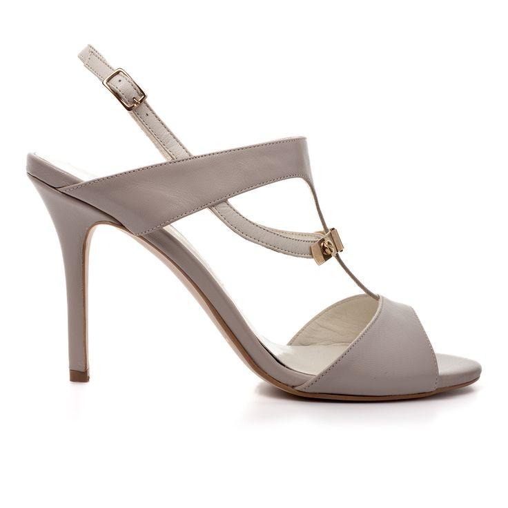 Code: 850A08 Heel height: 8cm www.mourtzi.com #sandals #elegant