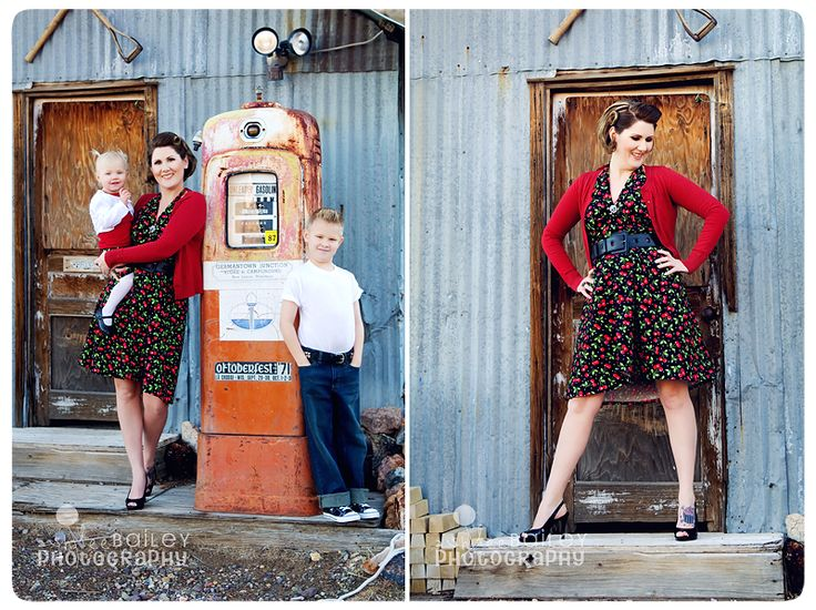 I am loving this picture with the old gas pump..I have been dying to do something like this!