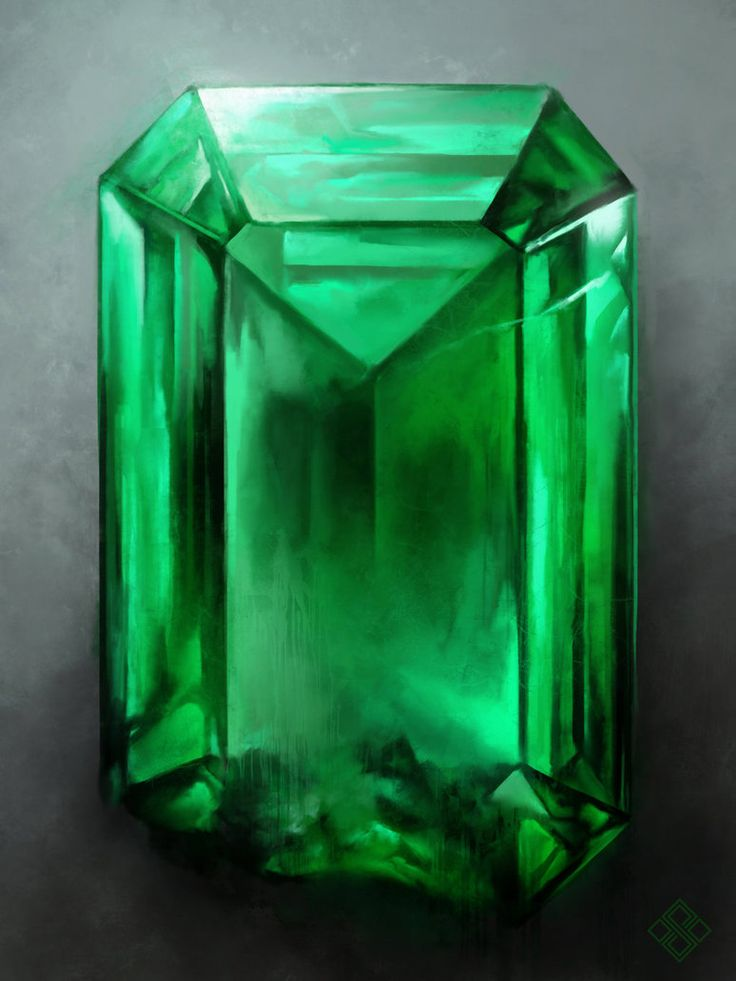 Infinity Emerald By Zsoltkosa On Deviantart Pedras E