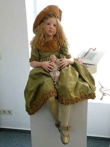 Hildegard Gunzel porcelain doll | Flickr - Photo Sharing!