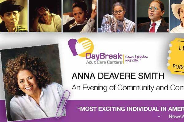 Anna Deavere Smith Live in Berkeley on April 21    #BerkeleyEvents
