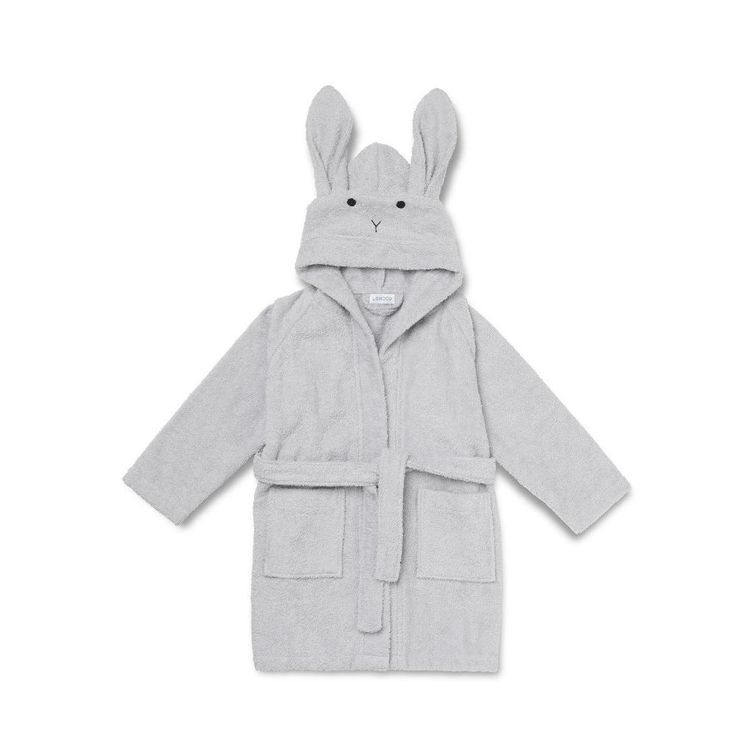 Liewood morgenkåbe rabbit dumbo grey Hos Babydk finder du altid et stor tudvalg af produkter fra Liewood. FRI FRAGT ved køb over 299 kr.