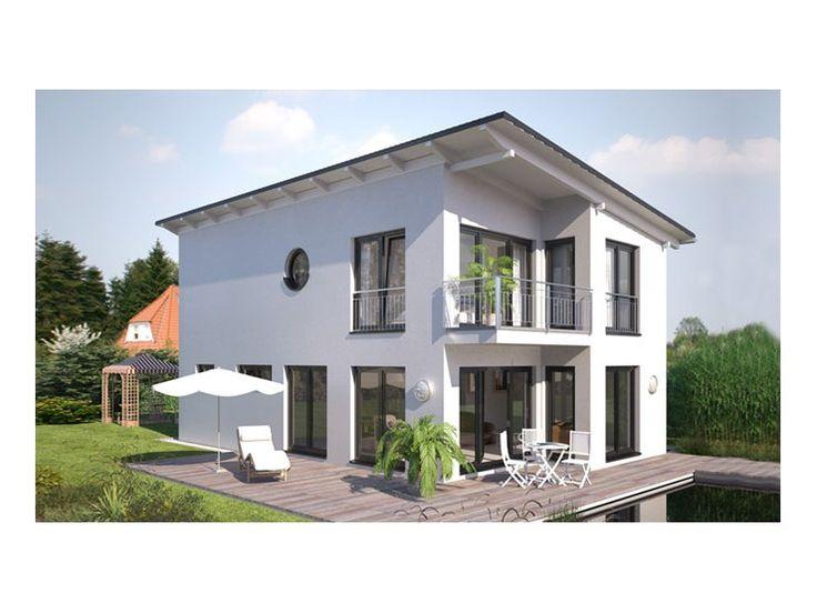 Fassadengestaltung modern pultdach  Hommage 136 - #Einfamilienhaus von Hanlo Haus Vertriebsges. mbH ...