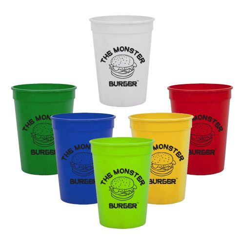 Imprinted Stadium Cup (12 Oz.) (Q206365)