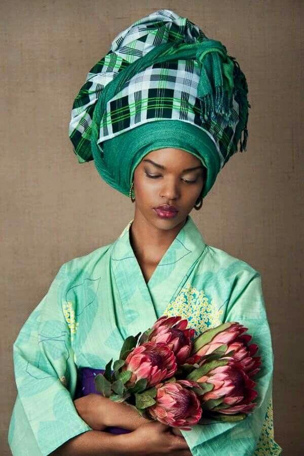 Freche nigerianische Mädchen