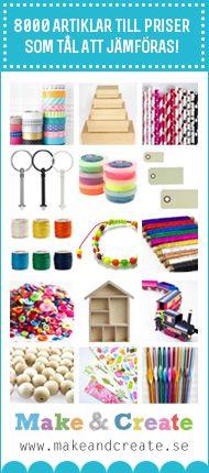 Påtade gummibandsarmband -Rubber band spool knitting | Craft & Creativity – Pyssel & DIY