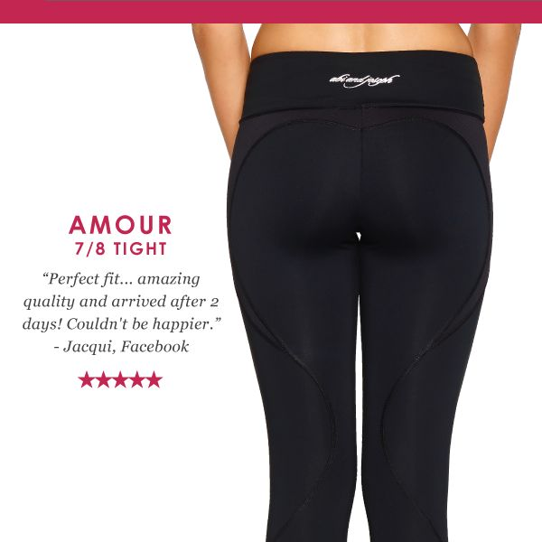 As a part of the abi and joseph support range, the Amour 7/8 Tight is designed for high performance and style. Made from our premium high performance fabrics that are moisture wicking, breathable, anti-ageing, quick drying with 4 way stretch for ultimate performance. This sleek and practical tight with a higher rise offers a wide waistband to support your mid-section and continuous drawcord to customise your fit.