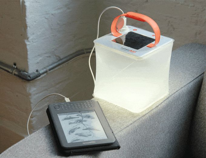 Navigating the wilderness is very rewarding if you have the proper tools, otherwise, you're just terrified. Nothing is scarier than being out in the great outdoors without a light or a phone. LuminAID has designed a product that addresses both these issues—a solar powered lantern that charges your phone.