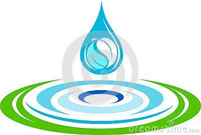 Logotipo Del Chapoteo Del Agua Imagenes de archivo - Imagen: 34058444