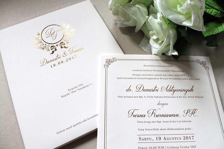 Vinas invitation. vinas surabaya. vinas semarang. vinas indonesia. indonesian wedding invitation. simple white invitation. any question pls visit us at website www.vinasinvitation.com. courtesy of Dana & Tresna