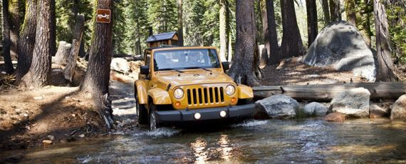 Вранглер Джип - Jeep Wrangler