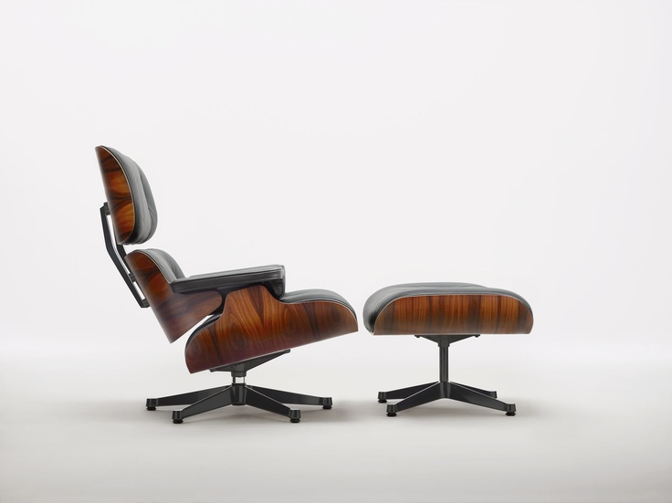 Vitra Lounge Chair & Ottoman.