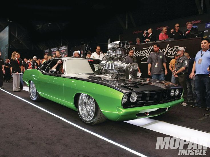 1971 plymouth barracuda with a 14 71 blower atop a 636ci for How much is a blower motor for a car