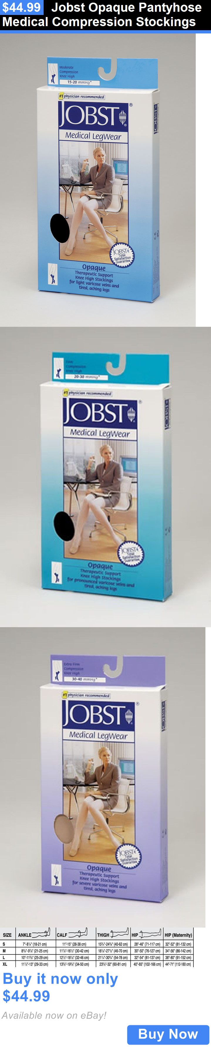 Compression Garments: Jobst Opaque Pantyhose Medical Compression Stockings BUY IT NOW ONLY: $44.99