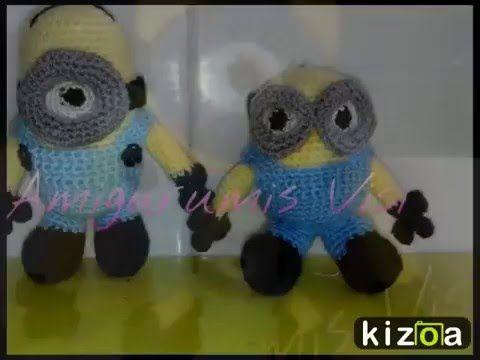 Kizoa Editar Videos - Movie Maker: Minions a ganchillo
