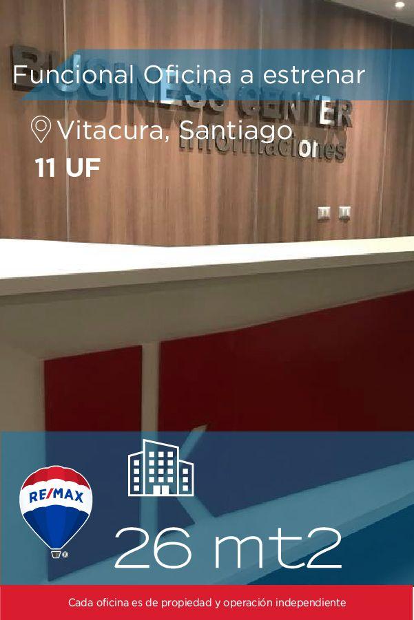 [#Oficina en #Arriendo] - #Funcional Oficina a estrenar  🚿: 1 🏡: 26 mts2  #propiedades #inmuebles #bienesraices #inmobiliaria #agenteinmobiliario #exclusividad #asesores #construcción #vivienda #realestate #invertir #REMAX #Broker #inversionistas #arquitectos #venta #arriendo #casa #departamento #oficina #chile