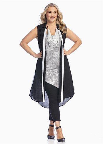 SHAFT SHIRT DRESS