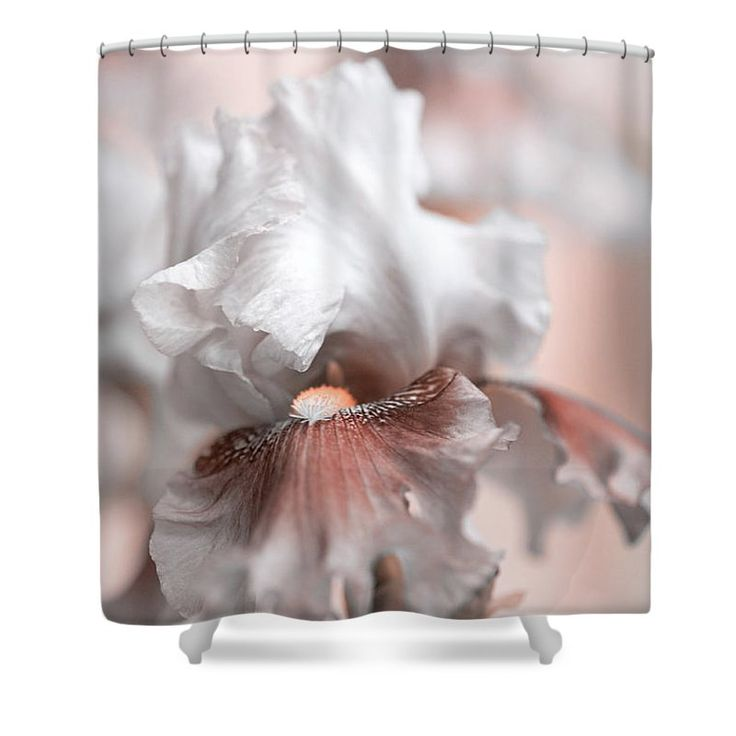 "Graceful Dream Shower Curtain by Jenny Rainbow.  This shower curtain is made from 100% polyester fabric and includes 12 holes at the top of the curtain for simple hanging.  The total dimensions of the shower curtain are 71"" wide x 74"" tall."