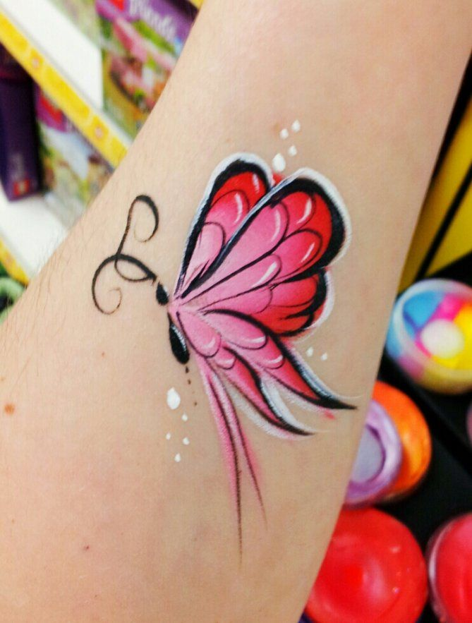 214 best images about arm body painting on pinterest for Airbrush tattoo paint
