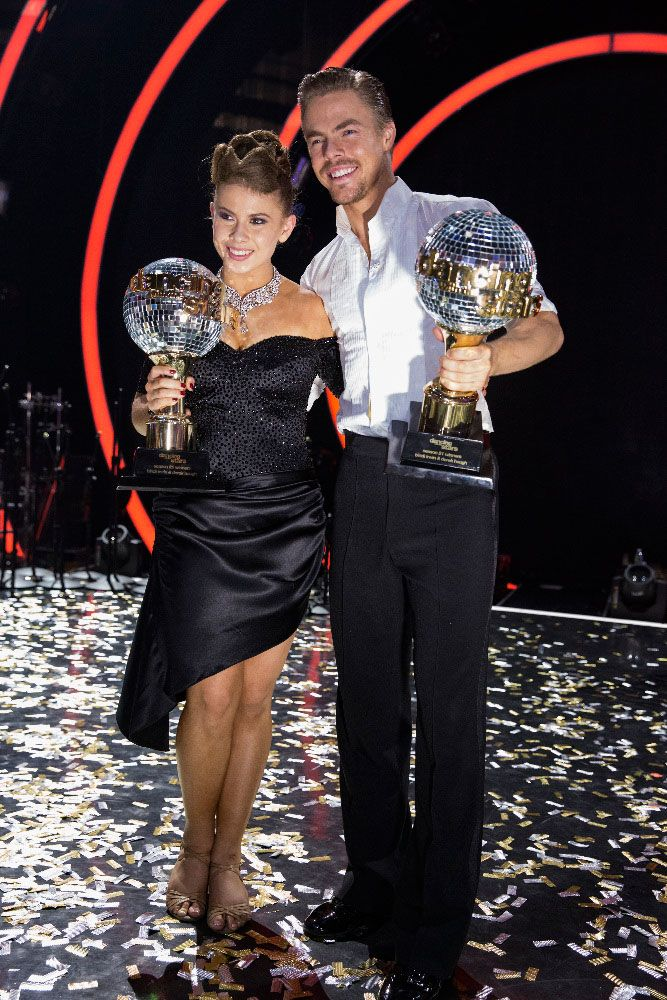 Bindi and Derek - DWTS 21 Champions