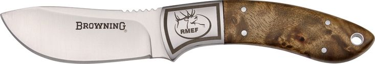 Browning Rmef Semi-skinner knives BR781 - $34.92 #Knives #Browning