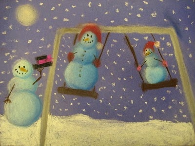 Snowmen at Night (love this book, and great to show how to draw and shade spheres)